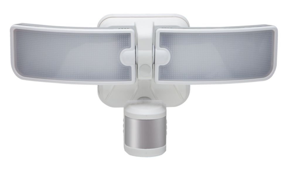 Defiant 180 Degree Outdoor White LED Blade Motion Security Light