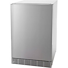 4.1 Cu. Feet Outdoor Stainless Steel Compact Refrigerator - UL Approved