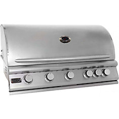 5-Burner Built-In Propane Gas BBQ BBQ