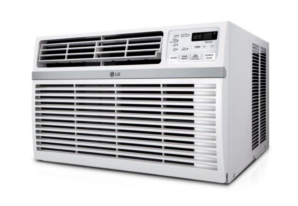 Lg 8 000 btu window air conditioner the home depot canada - Brasseur d air electro depot ...