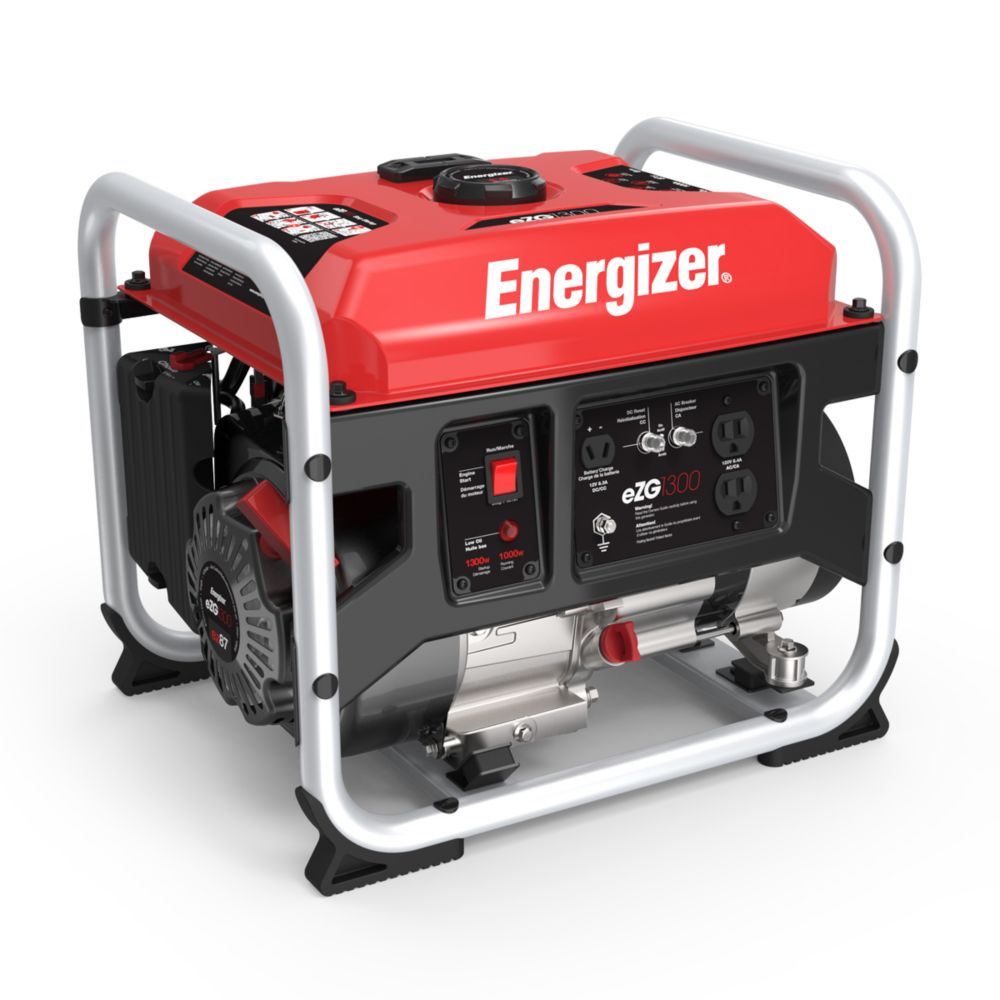 EZG1300: 1000W Gas-Powered Portable Generator