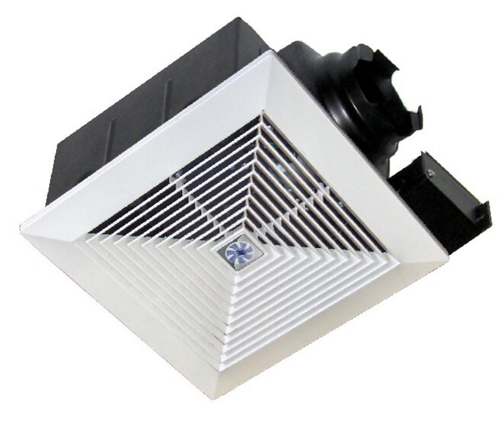 Softaire extrêmement silencieux ventilateur:  90 CFM,  1.0 sones