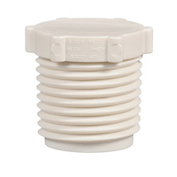 Jag Plumbing Products 1/2 Inch Mpt Pex Plug (25-Pack)