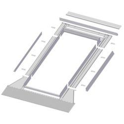 Fakro 48-inch x 27-inch  EH-A Skylight High Profile Step Flashing - ENERGY STAR®