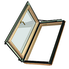 24-inch x 46-inch Fakro FWU-L Left Opening Roof Access Window