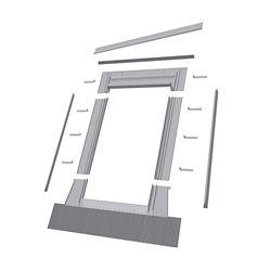 Fakro Fenêtre d'accès au toit EH-W de 24 po x 38 po avec solin à profil haut - ENERGY STARMD