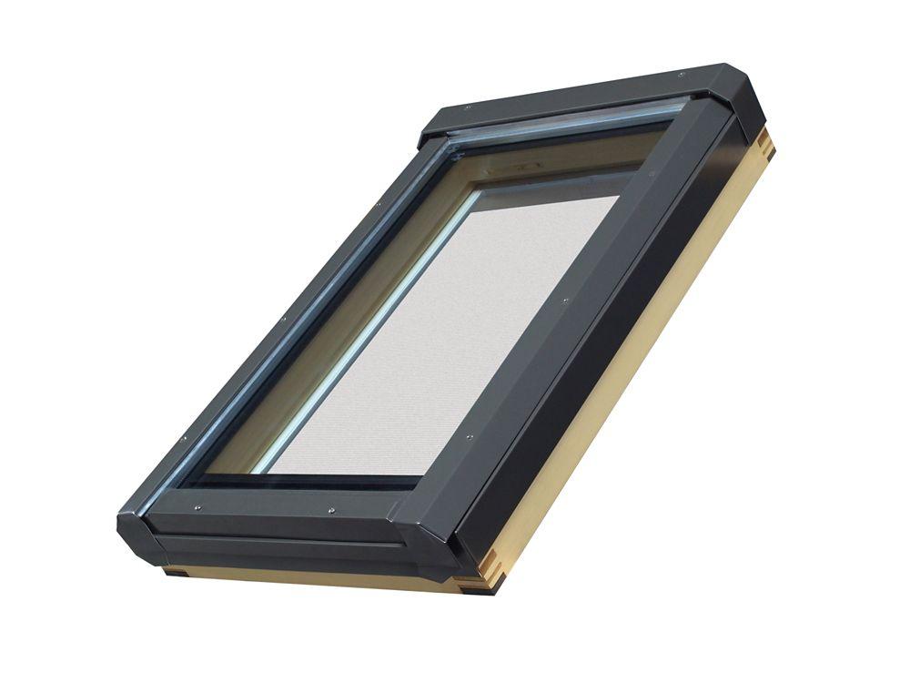 Puits de lumière à ouverture manuelle FV 48/27 Z3 (verre trempé, argon, à faible émissivité)