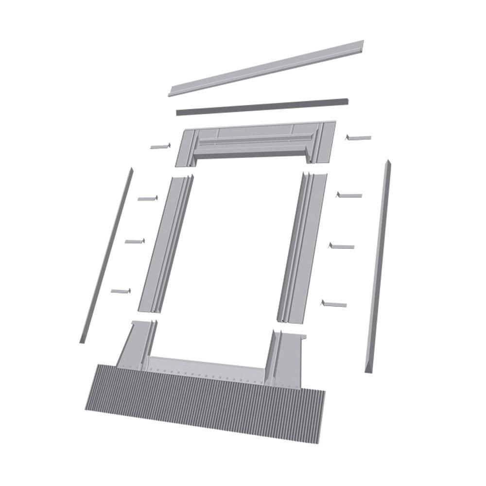24-inch x 46-inch Fakro EHW Roof Access Window High Profile Flashing