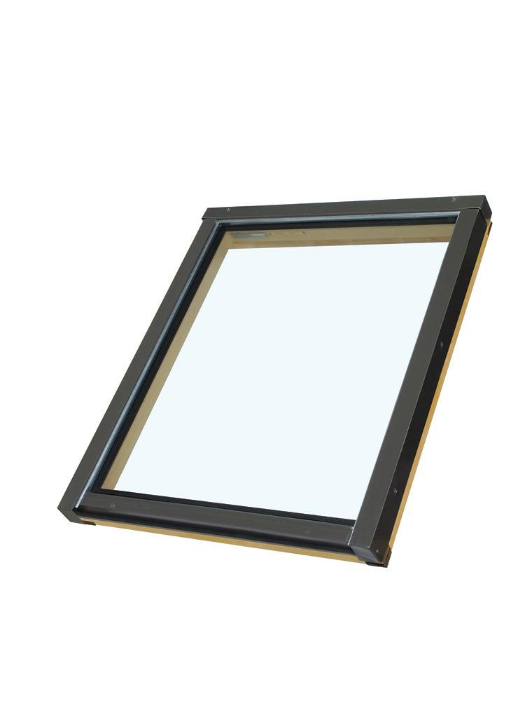 Puits de lumière fixe FX 24/46 Z3 (verre trempé, argon, à faible émissivité)