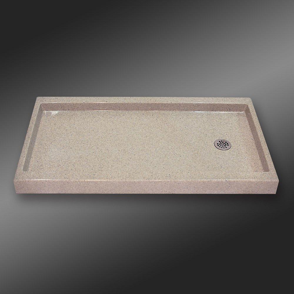 Base carré de seuil unique, PG141- Crème Irlandaise- 60 x 32 pouces