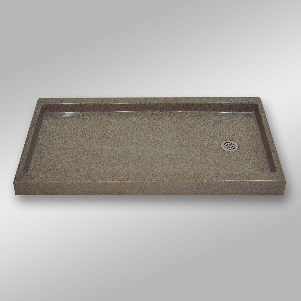 Right Hand Drain, PG144 Carioca Stone- 60 x 32 inches