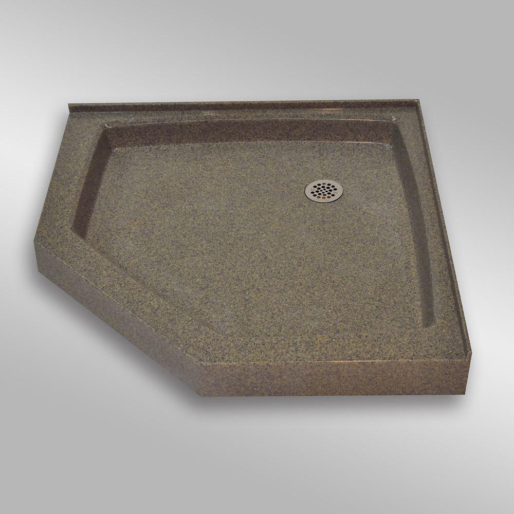 Neo Angle, PG144 Carioca Stone- 42 x 42 inches