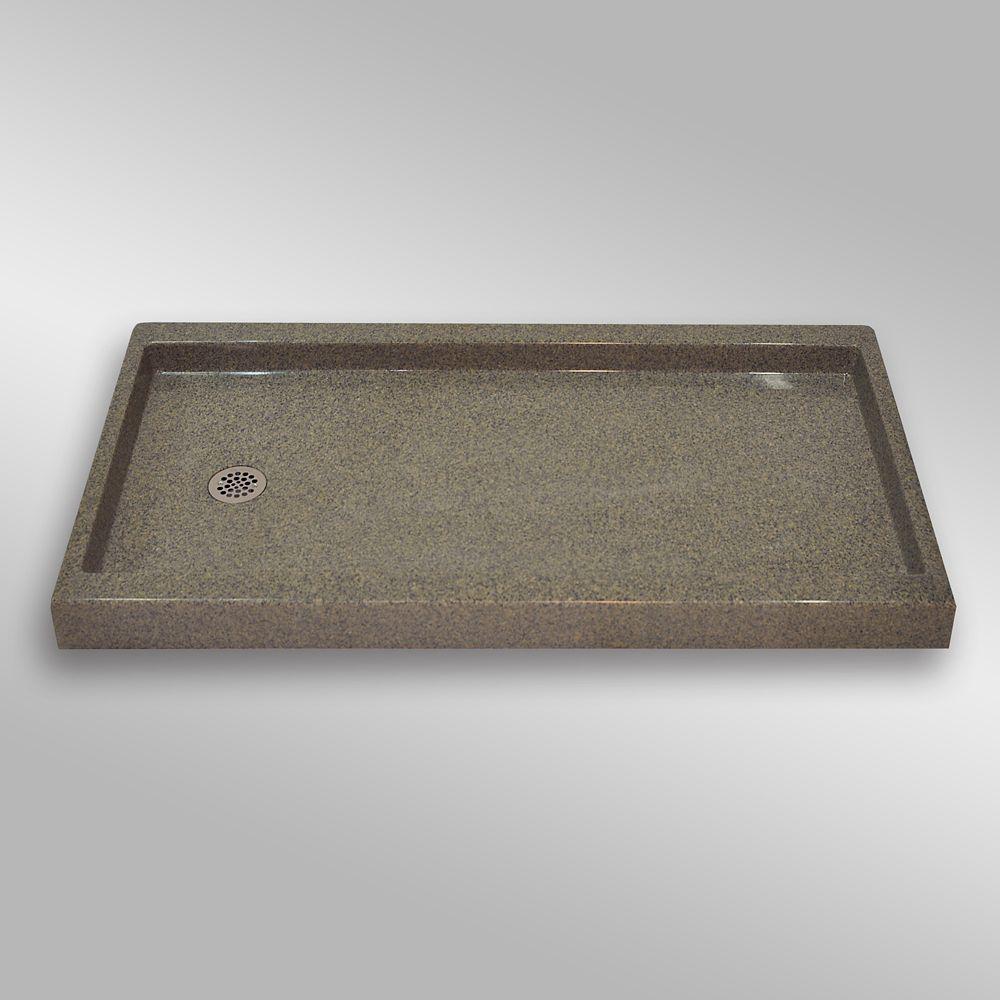 Left Hand Drain, PG144 Carioca Stone- 60 x 32 inches