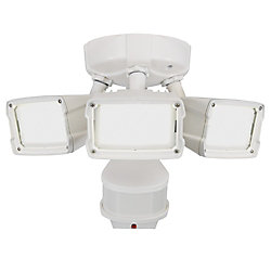 Defiant 180W 270 LED Security Light in White with Triple Motion Doppler Sensor