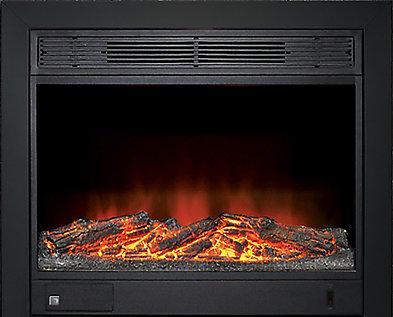 depot home electric fireplace insert heater reviews