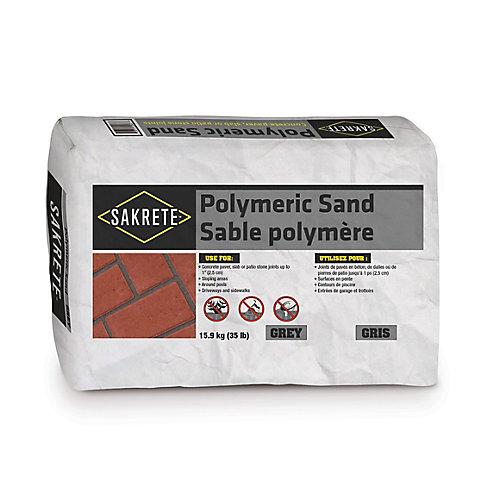 35 lb. Sakrete Sable Polymère, Gris