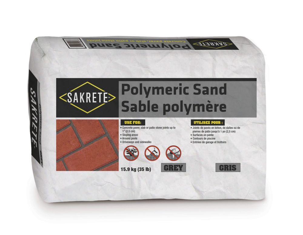 Oldcastle 35 lb Sakrete Polymeric Sand, Grey