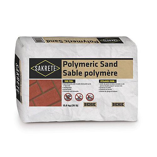 35 lb. Sakrete Sable Polymère, Beige