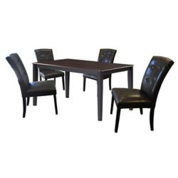 49c03d924c1d Monarch Specialties 48-inch Dia Round Dining Table in Espresso with ...