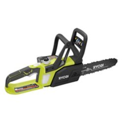 RYOBI 18V ONE+ Lithium+ 10-inch Lithium-Ion Cordless Chainsaw with 1.5 Ah Battery