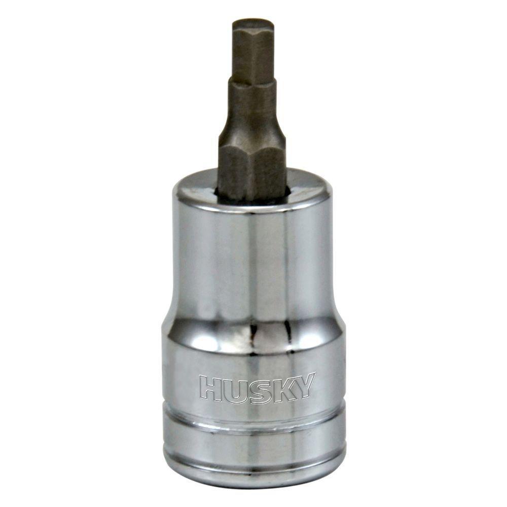 HUSKY 3/8 Inch Drive 3/16 Inch Hex Bit Socket