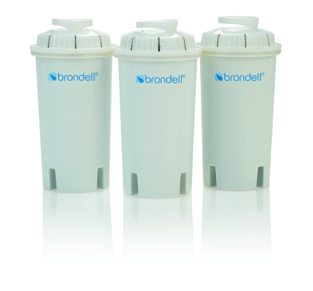 Brondell H2O+ Water Pitcher Filter-Pack of 3