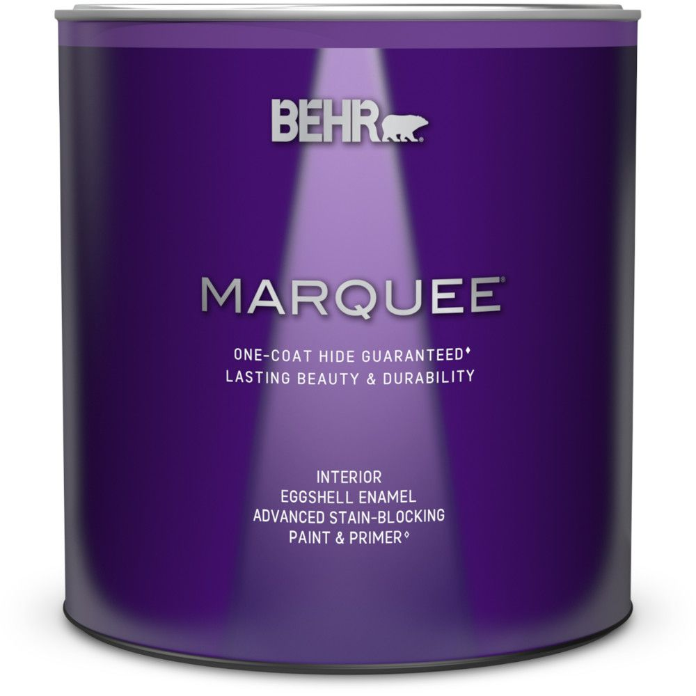 Marquee<sup>®</sup> 939 mL Ultra Pure White Eggshell Enamel Interior Paint with Primer