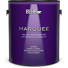 Marquee   3.7 L Medium Base Eggshell Enamel Interior Paint with Primer
