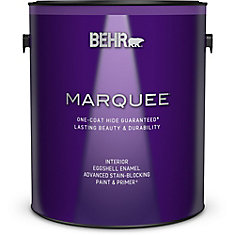 Marquee   3.7 L Deep Base Eggshell Enamel Interior Paint with Primer