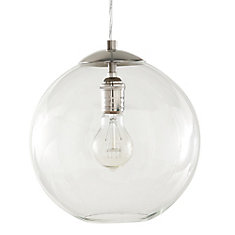 Home decorators collection glass ball mini pendant the home depot canada Home decorators collection mini pendant