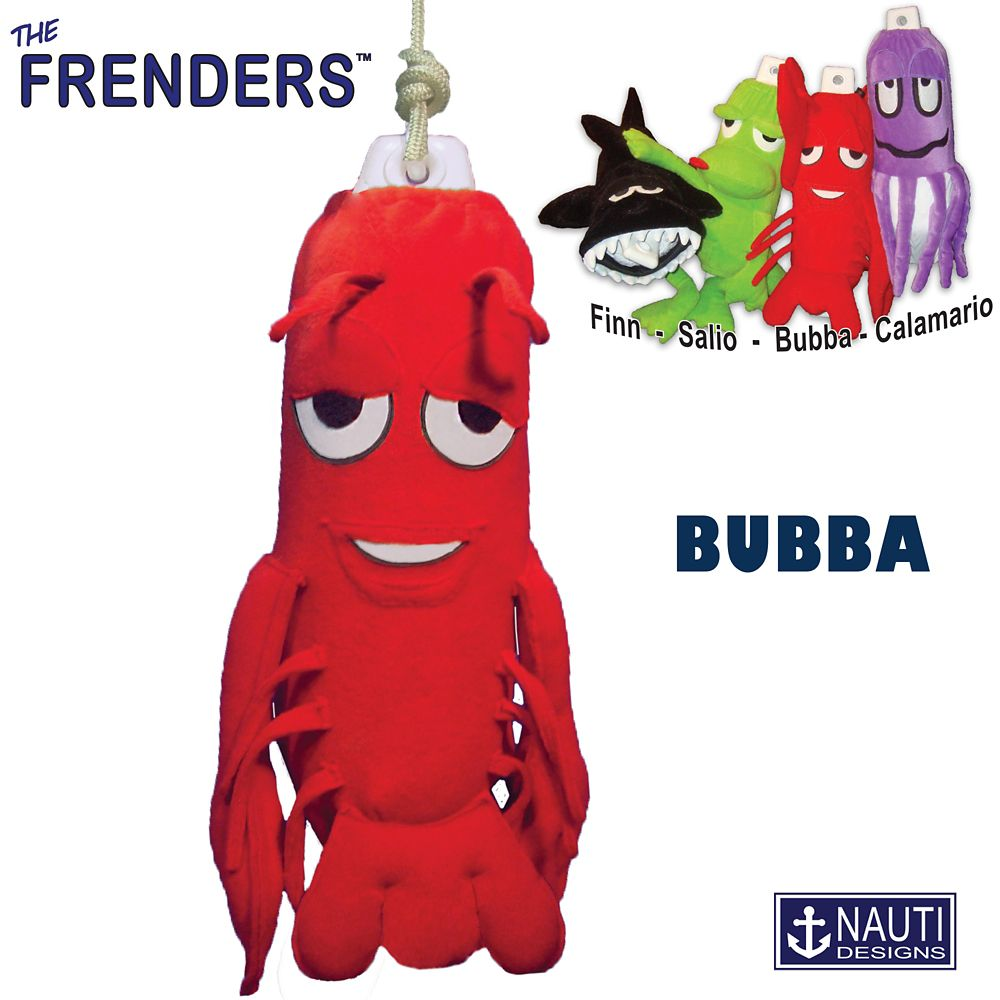 Bubba the Lobster Frender (Fender Décor/Cover)