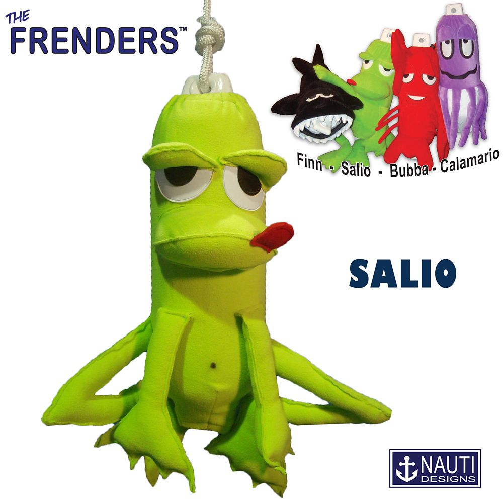 Salio the Frog Frender (Fender Décor/Cover)