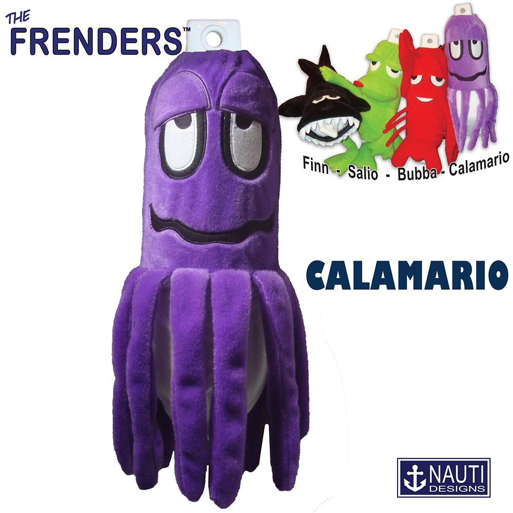 Calamario the Squid Frender (Fender Décor/Cover)