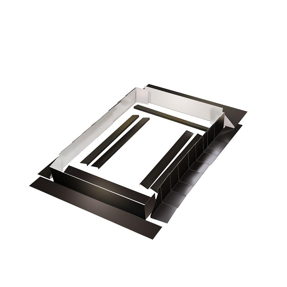 36-inch Brown Curb Mount Flashing Kit