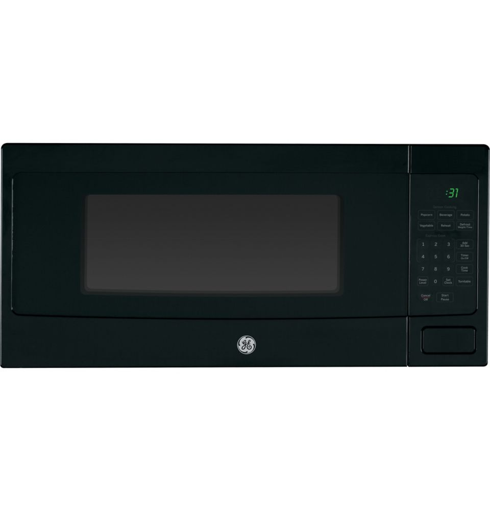 1.1 cu. ft. SpaceMaker Microwave Oven in Black