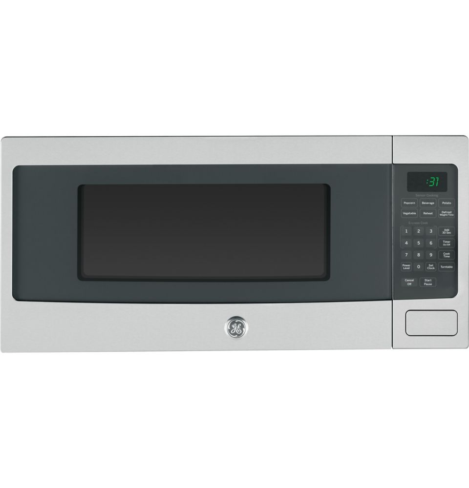 GE 1.1 cu. ft. SpaceMaker Microwave Oven in Stainless Steel