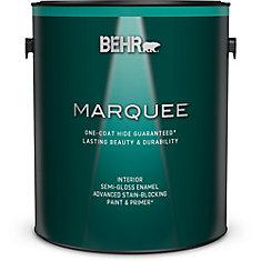 Marquee   3.7 L Medium Base Semi Gloss Enamel Interior Paint with Primer