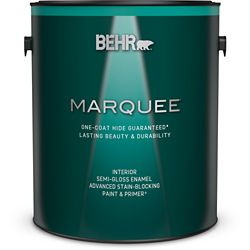 Behr Marquee Marquee 3.7 L Medium Base Semi Gloss Enamel Interior Paint with Primer