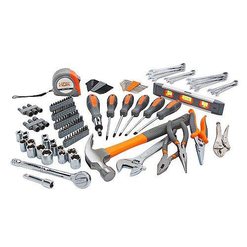HDX Homeowner's Tool Set (137-Piece)