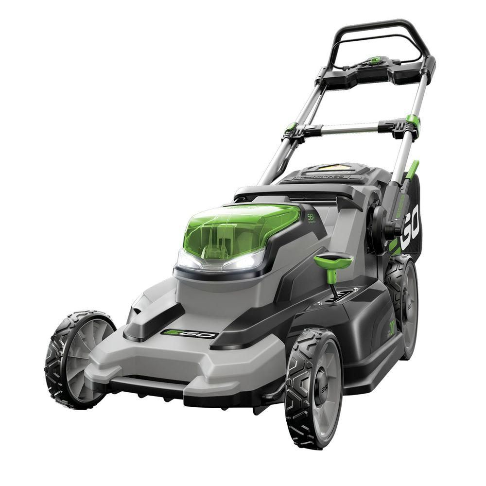 Ego 20 Inch 56v Lithium Ion 3 In 1 Cordless Lawn Mower