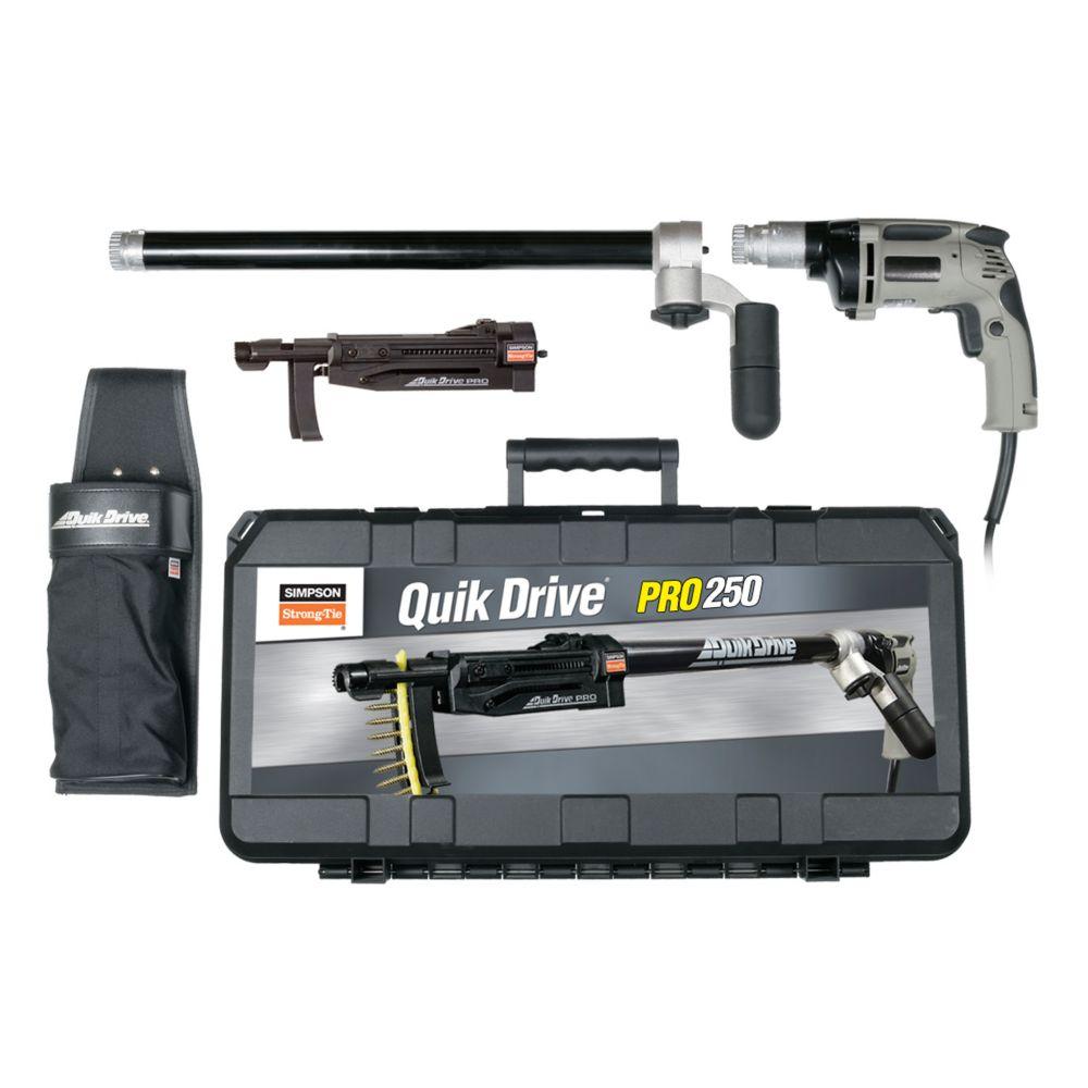 Système Quik DrivePRO250 pour moteur de visseuse Milwaukee 2 500tr/min