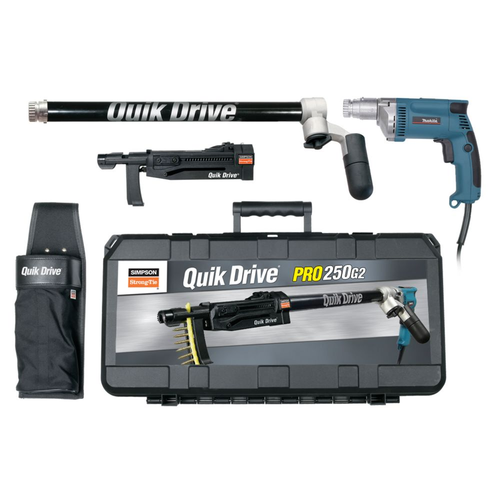 PRO250 Quik Drive System for Makita 2500 RPM Screwdriver Motor