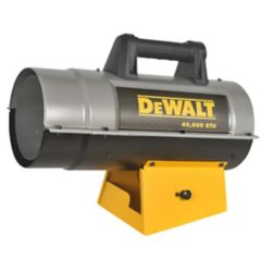 DEWALT 40k BTU Propane Forced Air Heater