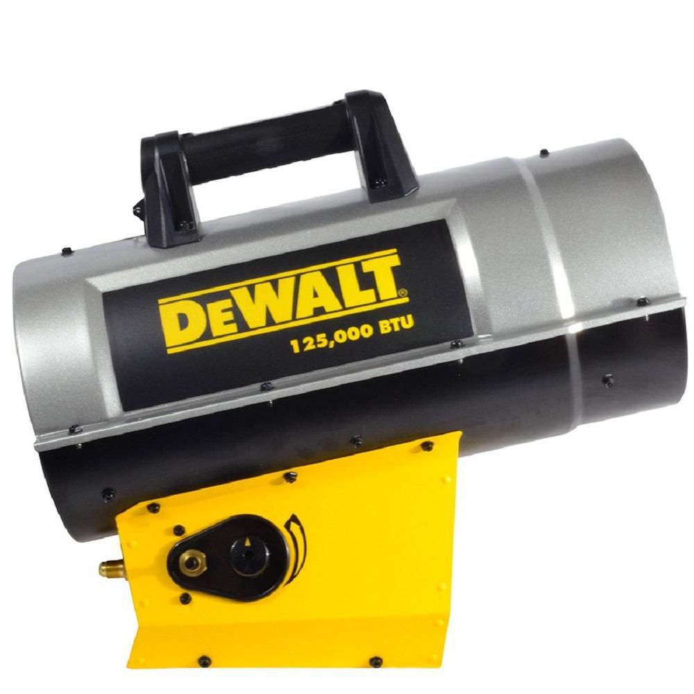 DEWALT Forced Air Propane Heater 125,000 Btu F340720