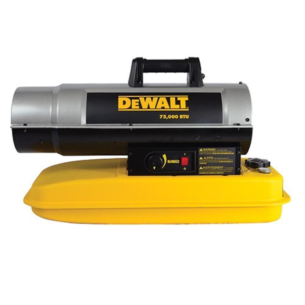 DEWALT Forced Air Kerosene Heater 75,000 Btu F340675