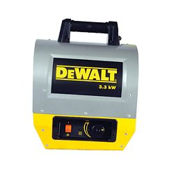 DEWALT Electric Forced Air Heater 3.3Kw F340640