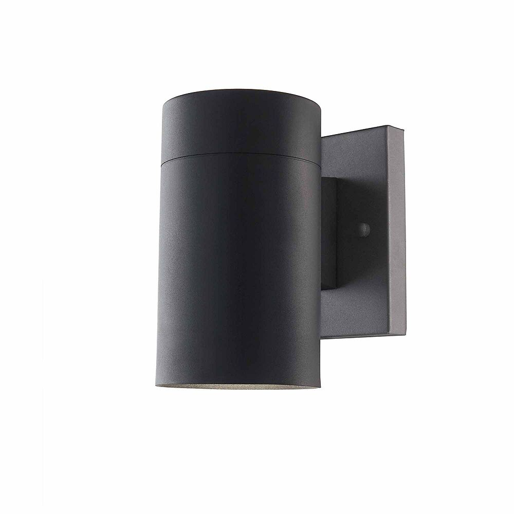 Home Decorators Collection Morrilton 1-Light Black Outdoor Wall Lantern