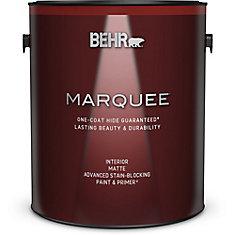 Marquee   3.7 L Medium Base Matte Interior Paint with Primer
