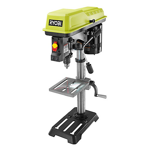 10-Inch Drill Press with Laser