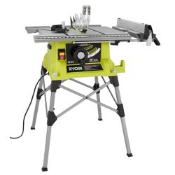 RYOBI 10-inch Portable Table Saw with Quick Stand
